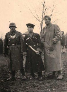 Cossack and German Feldgandamerie soldiers 1944