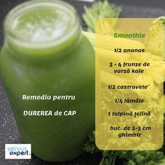 Sănătate la pahar cu SEMINȚE și NUCI - Servus Expert Cocktails, Drinks, Smoothie Recipes, Kale, Cantaloupe, Panna Cotta, Deserts, Health Fitness, Healthy Recipes
