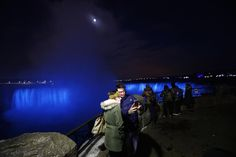NIAGARA FALLS, Ontario — The nightly spectacle of Niagara Falls lit up after dark just got more spectacular.A $3 million upgrade saw the