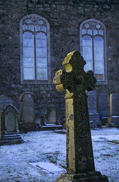 Fintry, Campsies, Scotland churchyard cemetery by Ian Cameron