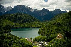 Hohenschwangau in Germany / photo by Scott Beal