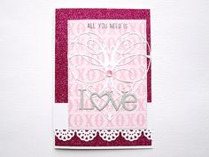 Greeting card All you need is love  by SeraphinasPapeterie on Etsy