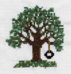 free pattern...most small like this one CHECK OUT THIS SITE. ARE THERE PARTNER PIECES TO THIS TREE AND SWING?