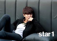 Lee Min Ho: atstar1 Magazine Shoot