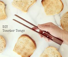 Toaster Tongs #woodworking #kitchen #utensil