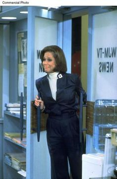The Mary Tyler Moore Show - The Final Show (March 1977) - Mary Richards steps back into the newsroom to turn off the lights for the last time.  The tears were flowing freely back then (as they are right now) when this aired.