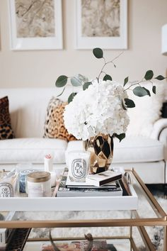 We have included a few tips and basic rules on how to create a well-balanced decorative design for all types of coffee tables. Hadley Court Interior Design | Living rooms | Decor