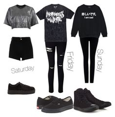 """""""Weekend"""" by kute-clothes ❤ liked on Polyvore featuring Topshop, Miss Selfridge, River Island, Citizens of Humanity, Vans and Converse"""