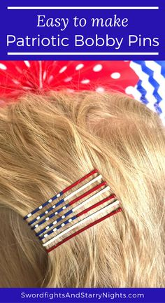 Patriotic Bobby Pins
