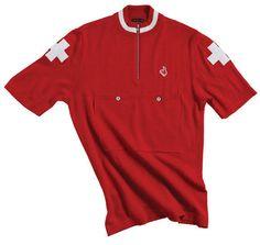 DeMarchi Clothing Classic team wool jersey, Switzerland 1954 - L in Jerseys | eBay