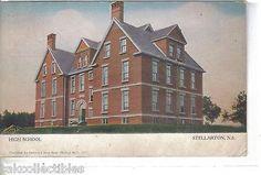 High School-Stellarton,Nova Scotia,Canada 1907