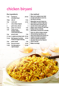 The chef and her kitchen mushroom biryani recipe mushroom recipes chicken biryani recipe save on foods forumfinder Image collections
