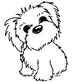 digital stamps freebies | Freebie: Digital Dog Stamp · Stamping | CraftGossip.com