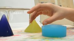 French Electronic Musical Jello.  There are DIY videos on how to make these. lots on youtube