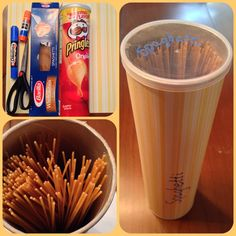 Reciclado de envase de Pringles