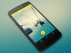 Snapchat Redesign - Material Design