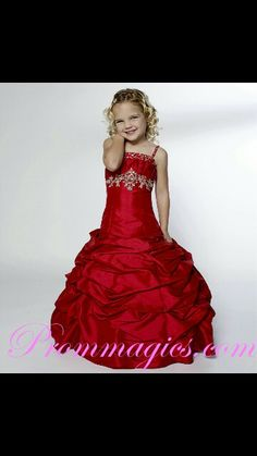 Red dress for kidsld tot wear this