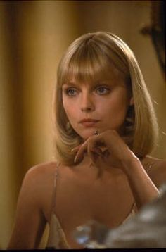 Scarface 1983 Directed by Brian De Palma Michelle Pfeiffer Movies Photo - 30 x 46 cm Michelle Pfeiffer Scarface, Elvira Hancock, 1980s Makeup, Pixie, Iconic Movies, New Haircuts, Stylish Haircuts, Celebs, Celebrities