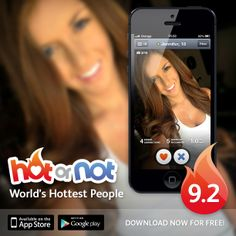 Hot or Not. Get in. Get seen. Get fans! Check out if you are Hot, find interesting people around you and chat with them. The hottest online community with over 190 million members!  Here's how it works:  * Check out how Hot you are. Get your score!  * Find out who is Hot around you * Like your Facebook friends and their friends * Chat with interesting people around you  #HotOrNotApp