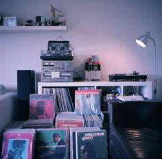 Vinyl living room analogue world