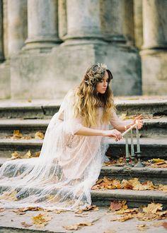 Romantic bridal session ideas | Antonova Kseniya Photography | see more on: http://burnettsboards.com/2015/12/romantic-bridal-session/