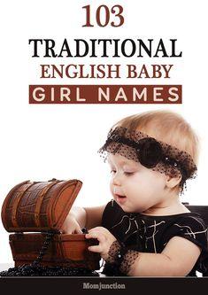 103 Traditional English Baby Girl Names