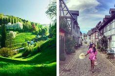 26 sagenhafte Orte in Hessen, die noch nicht einmal Hessen kennen