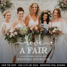 Save the date for Love A Fair at Bradman Oval Bowral on January 21st 2018!   Showcasing a range of suppliers and venues it's a great place to meet some awesome wedding people and plan your big day :)  You can pre-purchase tickets at buff.ly/2zKjHa0  #theweddingmarketco #bowralwedding #loveafair #southernhighlandswedding #weddingplanning @theweddingmarketco