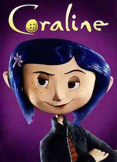 Coraline - filme 2009 - animação, fantasia, suspense - direção: Henry Selick - fotografia: Pete Kozachik - atriz: Dakota Fanning