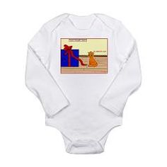 Innocent Cat Long Sleeve Infant Bodysuit > Cute Holiday Designs Children's Apparel and More > Designs For The Little Ones