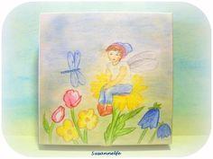 Holzkiste Elf Jahreszeitentisch von Susannelfes Blumenkinder  auf DaWanda.com