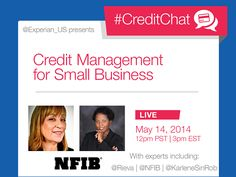 Join our weekly #CreditChat on Wednesday at 3 p.m. ET | Experian News Blog