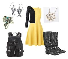 """Come at Me"" by baileyem-1 on Polyvore featuring L.K.Bennett, maurices, Prada and Bling Jewelry"