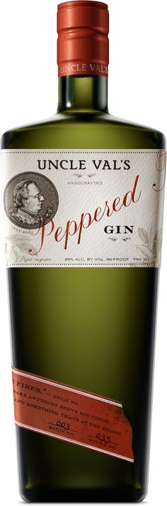 Review: Uncle Val's Peppered Gin - Drinkhacker