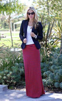 .Love maxi skirts