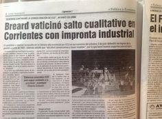 Repercusión periodística del acto del Club Alvear en la capital