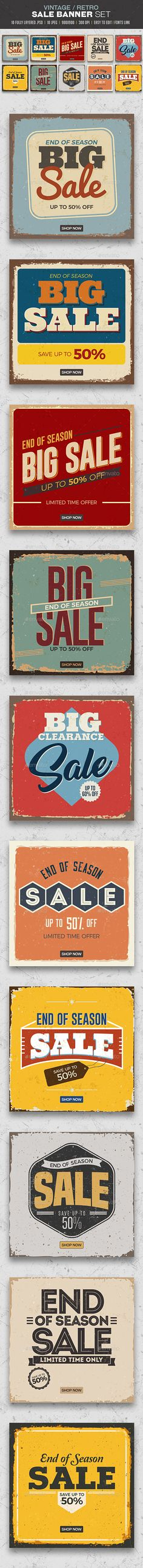Sale Banners Set - Banners & Ads Web Elements Download here : https://graphicriver.net/item/sale-banners-set/19277262?s_rank=22&ref=Al-fatih