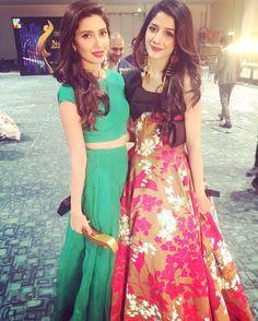 Mahira Khan and Mawra Hocane