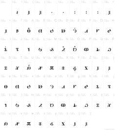 elven runes - Поиск в Google