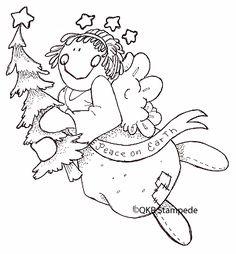 digi16705 Peace Angel