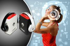 Get a pair of stylish Chimp CS-800 headphones.