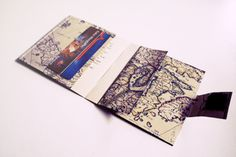Make my own wallet out of a map? Ok. I love cartography; I love credit cards - At last the twain shall meet.