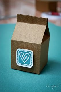 Bee-inspired: Gift box packaging tutorial