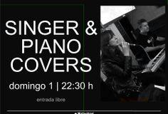 Singer & Piano Covers @ El Tragaluz - Ourense música concierto concerto