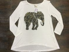 Kids Elephant top