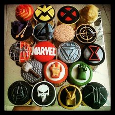 MARVELous cupcakes.