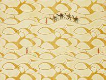 'Desert and Camels' or 'Sahara'  Wallpaper designed by Edward Bawden, 1928  SW2236