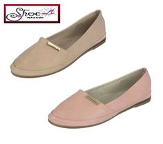 New Womens Ladies Shoes Loafers Ballerina Casual Flat Shoes Slip On Pumps 3-8