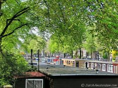 Many of Amsterdam's houseboats are connect to the sewer system -- and many are not...