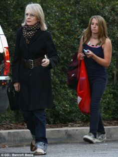 Adopted: Diane Keaton with her teenage daughter, Dexter, in 2009